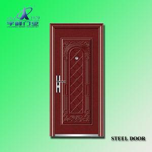 New Style Steel Door Yf-S136 pictures & photos