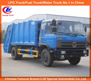 Dongfeng 4X2 13cbm Garbage Compression and Waste Collector Truck pictures & photos
