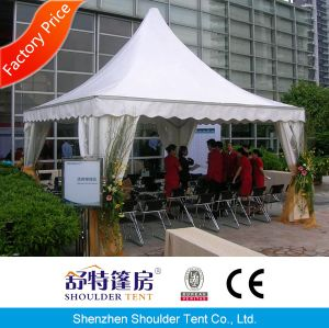 10X10m White Wedding Big Pagoda Tent with Curtains and Linings pictures & photos
