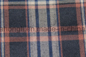 Yarn Dyed T/R Fabric, Plaid, 65%Polyester 32%Rayon 3%Spandex, 266GSM pictures & photos