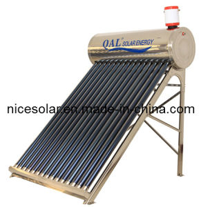 Home Use Solar Water Heater, Compact Solar Energy, 2015
