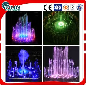 Small Stainless Steel Music Dancing Water Garden Fountain for Home Decoration pictures & photos