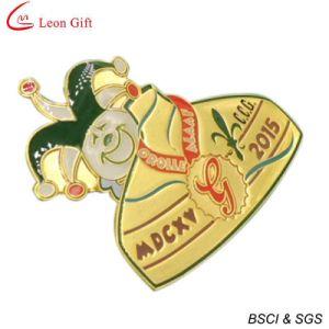 Custom Gold Epoxy Souvenir Badge (LM1067) pictures & photos