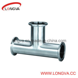 Sanitary Stainless Steel Clamp End Equal Tee pictures & photos