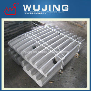 Wear Resistant Part Professional Design High Manganese Steel Cast Crusher Spare Parts Jaw Plate