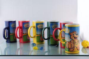 Ceramic Tall Mug with Decal Printing (CZJM1710)