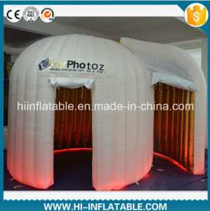 Customized Inflatable Photo Booth with Color Changing LED Light for Sale