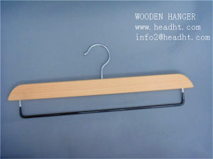 Wooden Clip Hanger for Pant Trousers Bottom pictures & photos
