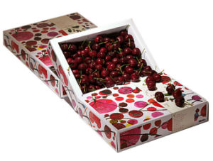 Printing Packaging Box for Cherries (GB-026) pictures & photos