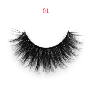 Newly Design Natural Looking Private Label 3D Silk False Eyelash