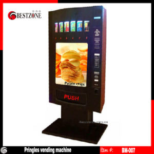 Shrimps or Potato Chips or Can Vending Machine (BM-007) pictures & photos