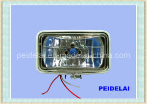 4 Inch Headlight Front Lamp Square Sealed Beam pictures & photos