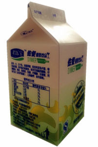 Mini 250ml Gable Top Carton for Yoghurt pictures & photos