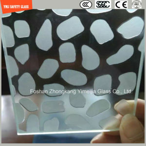 Acid Etched Tempered Anti Slipping Construction Glass pictures & photos