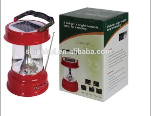 Wholesale Price Portable 1W Super Bright Solar LED Camping Lantern pictures & photos