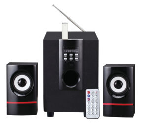 2.1 Multimedia Speaker Read USB&SD, Can Also Connect PC pictures & photos