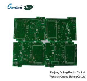 2 Layer Green Solder Mask PCB with Hal Coating pictures & photos