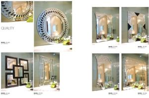 Hand-Made Mirror Bathroom Decorative Mirror pictures & photos