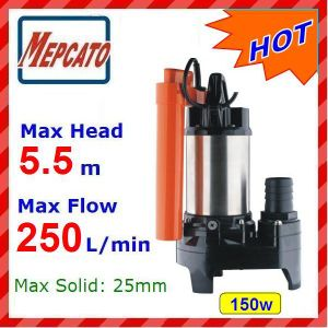 Submersible Water Pump for Garden