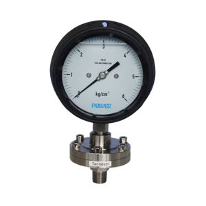 4.5 Inch 115mm Tantalum Diaphragm Pressure Gauge pictures & photos