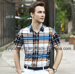 Fashion Check Shirt for Men pictures & photos