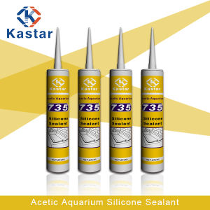 Building Supplies Acetoxy Aquarium Silicone Sealant (Kastar735) pictures & photos