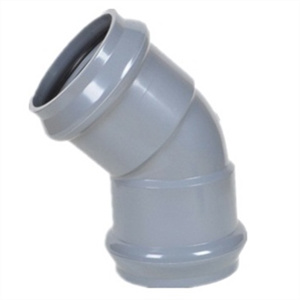 PVC 45 Degree Elbow DIN Standard pictures & photos