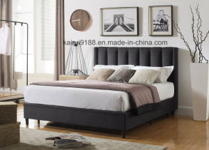 Modern Black Fabric Home Hotel Home Soft Livingroom Bedroom Furniture pictures & photos