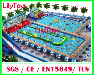 Frame Pool, Moving Water Park, Water Park Land Game, Mobile Park, Ground Park