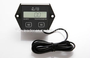 LCD Tachometer Gasoline Engine Maintainence Reminder