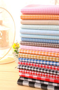 "100% Polyester Fabric 45X45 110X76 58/60"" Yarn Dyed Fabric pictures & photos"