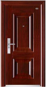 Security Steel Door with Strong Steel Sheet pictures & photos