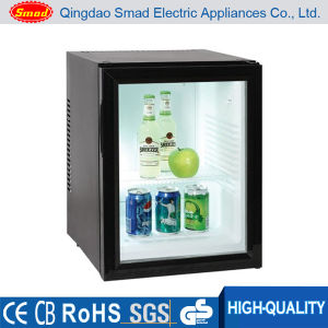 Portable Glass Door Hotel Desktop R134A R600A Mini Beer Fridge pictures & photos