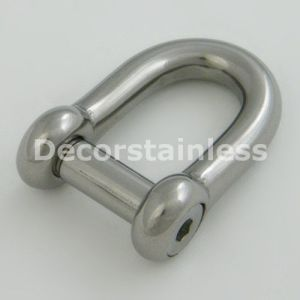 Stainless Steel Screw Pin Shackle pictures & photos