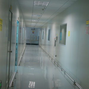 Outside of Cleanroom Fire Fighting Access and Exit for People