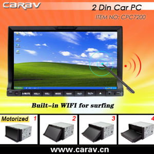 Mutl Touch 2 DIN Car PC with GPS/WiFi/Bluetooth/3G Optional