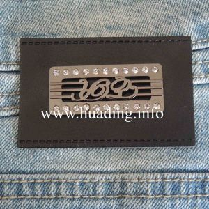 Customized PU Patch for Jeans (PA-08) pictures & photos