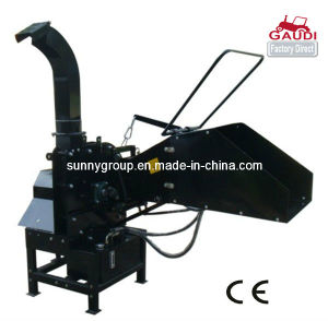 CE Approved Wood Chipper, Hydraulic Feeding System, Double Roller pictures & photos