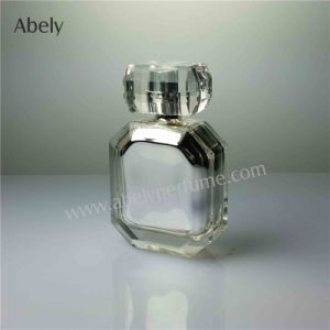 50ml Metalzing Decoration Glass Bottle for Cosmetic Package pictures & photos
