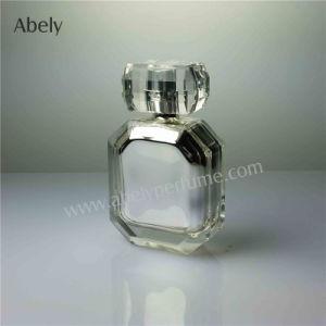 50ml Metalzing Decoration Glass Bottle for Men′s Perfume pictures & photos