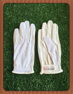 Nail Half Finger Lady Golf Glove with UV Protection