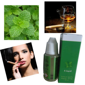 Competitive Mint Menthol Flavor E Liquid with 0mg/6mg/9mg Strength pictures & photos