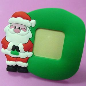 Christmas Photo Frame, Made of Soft PVC/ Rubber /Plastic pictures & photos