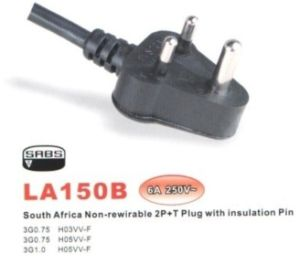 South Africa Plug 6A Insulation Pin pictures & photos