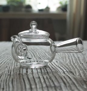 Prime Glass Tea Pot Filter Tea Pot Creative Tea Pot pictures & photos