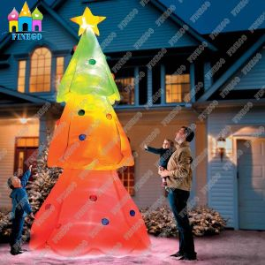 Giant Outdoor LED Inflatable Christmas Tree Decoration for Sale pictures & photos