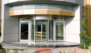 Automatic Revolving Doors pictures & photos