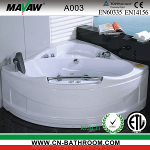 Corner-Shaped Massage Bathtub (A003)