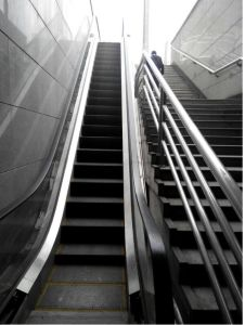 Outdoor Escalator with Stainless Steel Handrail