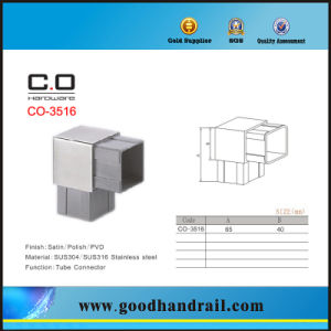 90 Degree Square Tube Connector (CO-3516) pictures & photos
